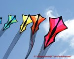 Into the Wind Brasington Central Station Kite Train