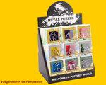IQ Puzzel Metaal - per 9 stuks