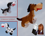 Premier Kites Dog Henry Hound Lijnversiering Large