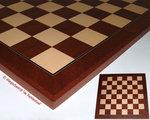 Schaakbord 43 Mahonie Plus