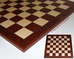 Schaakbord 52 Mahonie Plus