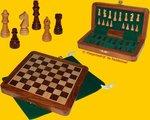Hotgames Reis Schaakspel 16 Palissander