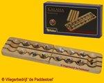 Philos Mancala / Kalaha / Bantumi 47 duo kleur steentjes