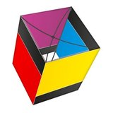X-Kites Arco Box Black Rainbow