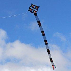 Into the Wind Maurizio's Quattrostelle Kite