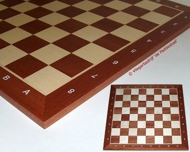Philos schaakbord veld 50 mm zonder veldnummers