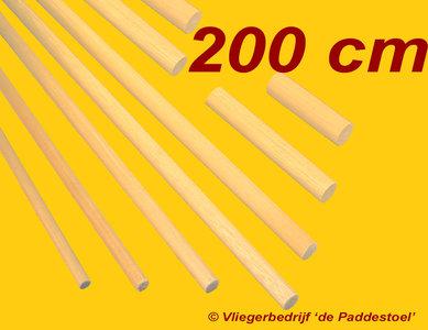 10 mm - 200 cm - Grenen