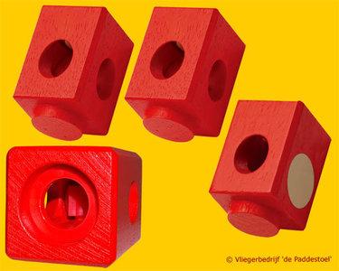 Quadrilla Rode Blokken variabel