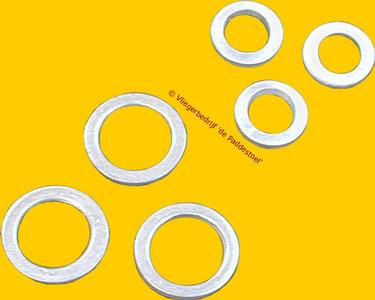 14 mm Toomring Plat-rond