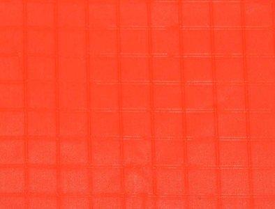 Fluor Orange Icarex Spinnaker Polyester per meter