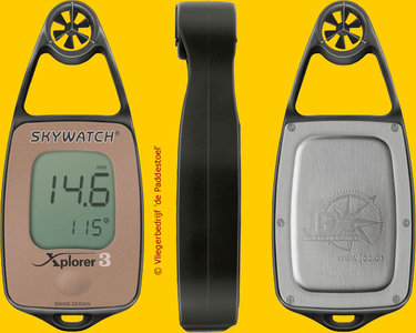 Skywatch Xplorer 3 windmeter