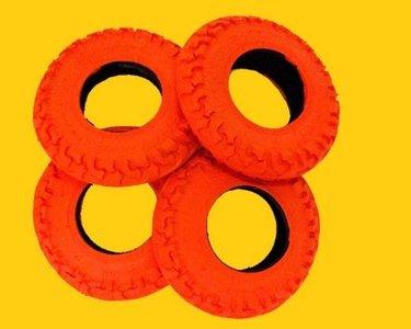 Kheo Buitenband 8 inch Rood - per stuk