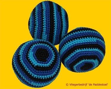 Jongleerballen Set Gehaakt Mercurius Blauw