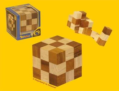 Philos Snake Blocks deLuxe L - IQ Puzzel