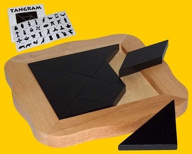 Hotgames Tangram Groot - IQ Spel