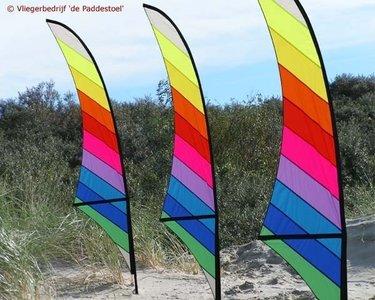 de Paddestoel Sabel Banner Regenboog