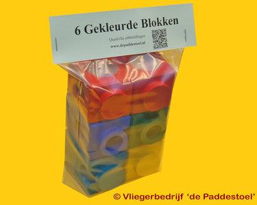 Quadrilla 6 Gekleurde Blokken B