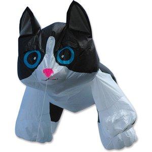 Premier Kites 4Ft. Black & White Kitten