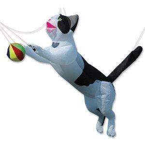 Premier Kites Ram Air Cat - Black & White