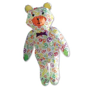 Premier Kites Teddy Bear - Peace Signs
