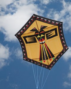 Premier Kites Sanjo Eagle of Paradox Gold