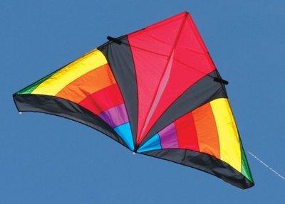 Into the wind 7-ft Levitation Delta Rainbow