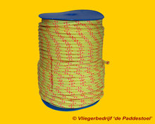 Gevlochten Polyester 6 mm - per meter
