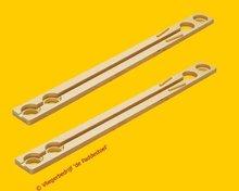 Quadrilla Lange Rechte Rails 4 gaten