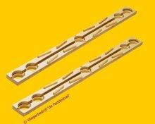 Quadrilla Lange Rechte Rails 5 gaten