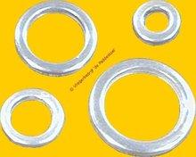 9 mm Toomring Aluminium Rond-Rond