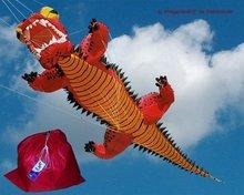 Premier Kites Red Dragon Lijnversiering