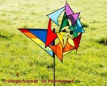 Premier Kites Windmolen Regenboog Large