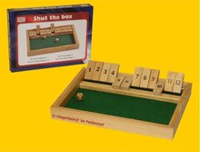 Hotgames Shut the Box / Shuttlebox 12er