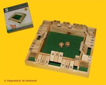 Longfield Shut the Box / Shuttlebox 4 personen Large