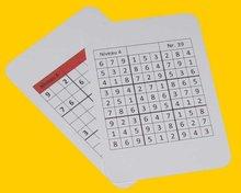 Sudoku Opdrachtkaarten
