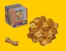 Philos Knoop Bamboe - IQ Puzzel