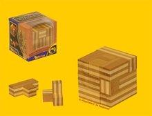 Philos Soma Kubus Bamboe - IQ Puzzel