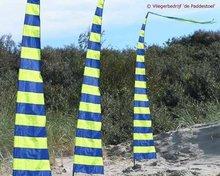 de Paddestoel Strepie Banner Blauw