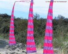 de Paddestoel Strepie Banner Pink