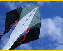 CIM F-Tail XXL Delta Zwart-Grijs