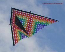 Premier Kites Delta Mesh Rainbow 330