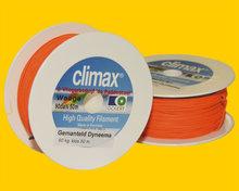 Climax Gemanteld Dyneema 90 kg Oranje - 50 meter