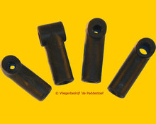 Flexibele Whiskerverbinder 8x6 mm