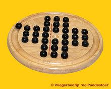 Longfield Solitair 23 Hout - IQ Puzzel